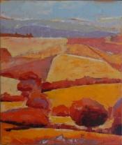 "Dick Bout, acryl ""Provence 2"" afm. 50 x 60 cm."