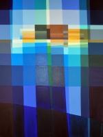 """Tom Kuper, acryl """"Eilat"""" afm. 80 x 60 cm."""