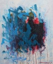 Johann van den Noort. 1556.ZT 2015 olieverf 120 x 100 cm